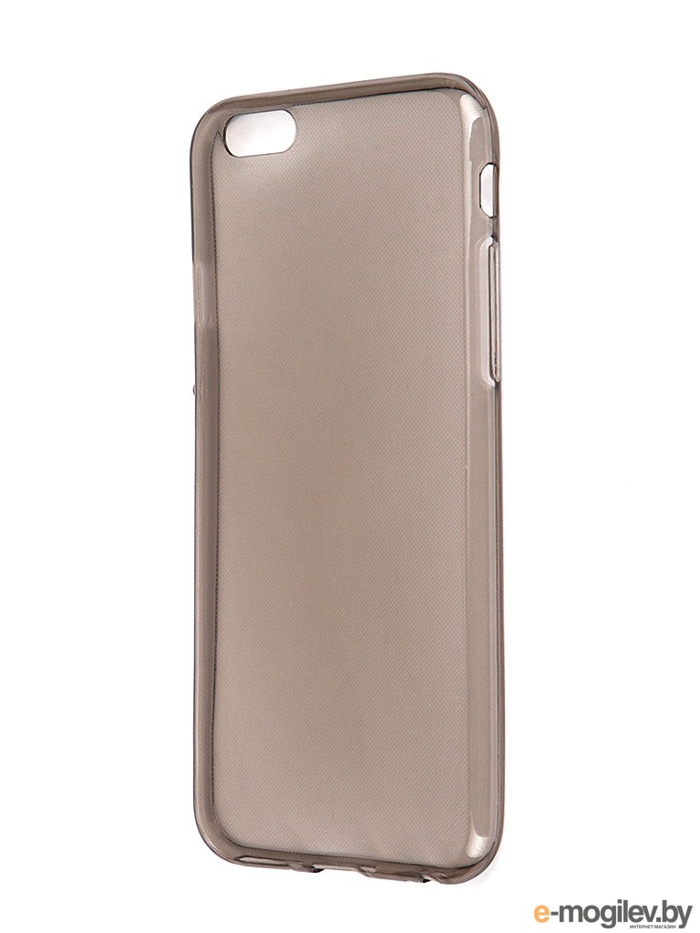 Чехол Krutoff для iPhone 6 Transparent-Black 10675