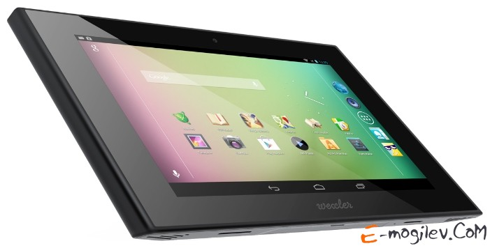 WEXLER TAB 7t 7 IPS LED(1280x800) A9 Cortex T30L Quadcore(1.3GHz)/1Gb/8Gb/WiFi/BT/GPS/Cam 5.0Mp+0.3Mp/4500mAh/Android 4.1/Black