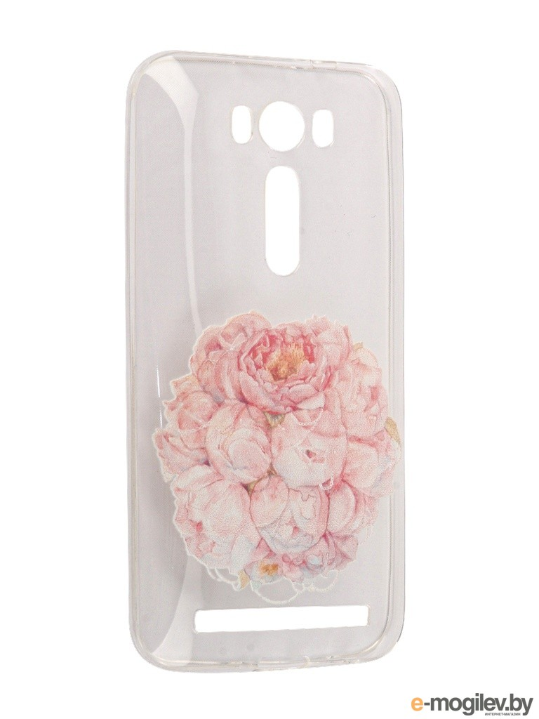 Чехол Asus ZenFone 2 ZE500KL Laser 5.0 With Love. Moscow Flower 5836