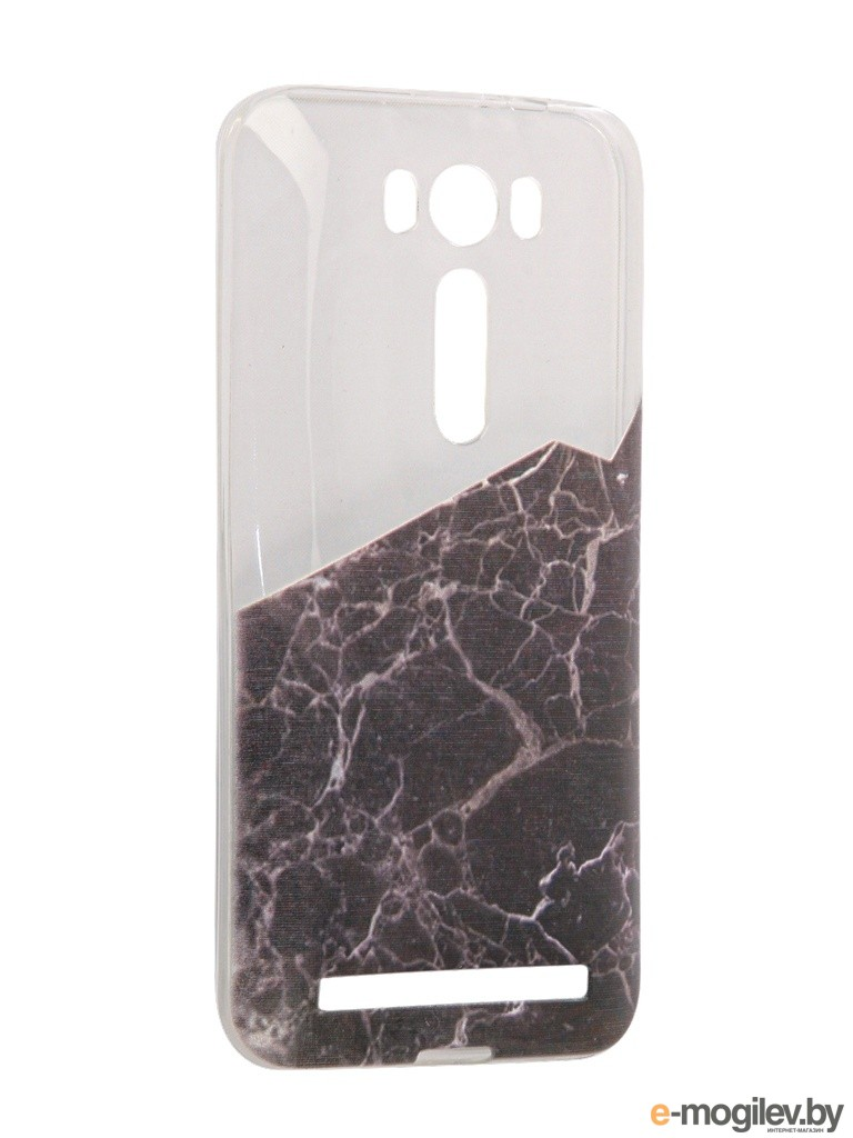 Чехол Asus ZenFone 2 ZE500KL Laser 5.0 With Love. Moscow Black Marble 2 5838