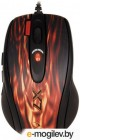 A4Tech XL-750BK USB Oscar Laser Gaming Mouse Fire Red