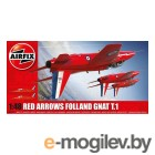 Сборные модели AIRFIX Folland Gnat Red Arrows A05124