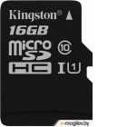 Kingston Canvas Select microSDHC CL10 UHS-I 16GB (SDCS/16GBSP)