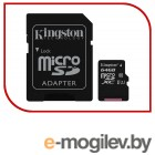 Карты памяти. Micro SecureDigital 64Gb Kingston SDCS/64GB {MicroSDHC Class 10 UHS-I, SD adapter}