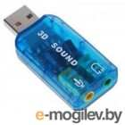 Звуковые карты. USB TRUA3D C-Media CM108 2.0 channel out 44-48KHz 5.1 virtual channel RTL xит