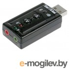 Звуковые карты. USB TRUA71 C-Media CM108 2.0 channel out 44-48KHz volume control 7.1 virtual channel RTL