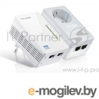 Адаптер Powerline AV600 Powerline Wi-Fi KIT, 300Mbps at 2.4GHz, 2 10/100Mbps Ports, Twin Pack(1* TL-PA4020P & 1*TL-WPA4220)