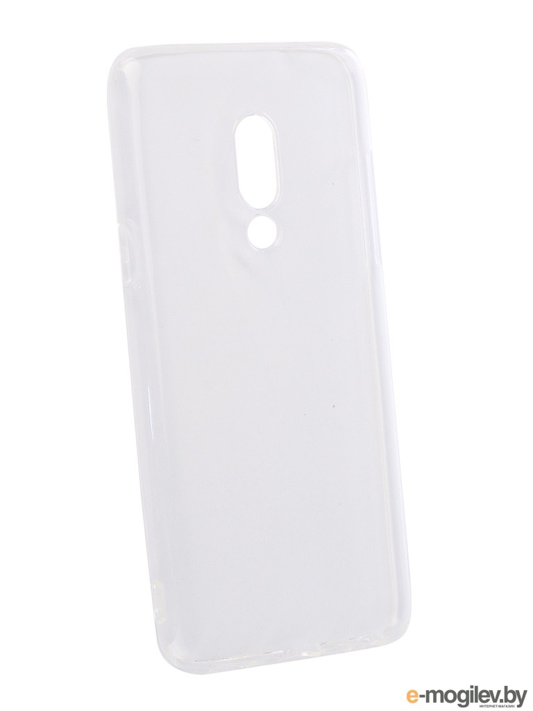 для Meizu Чехол для Meizu 15 DF Silicone Super Slim mzCase-28 Transparent