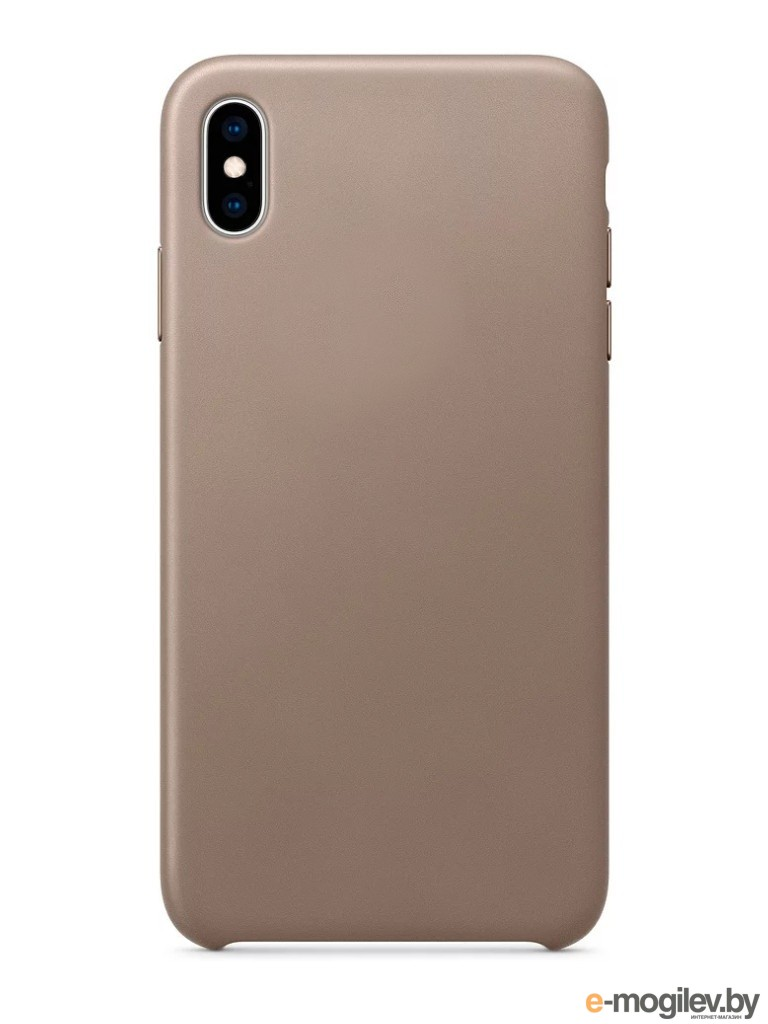 для APPLE iPhone Чехол APPLE iPhone XS Max Leather Case Taupe MRWR2ZM/A