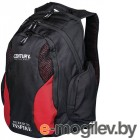 Рюкзаки Century Backpack Black-Red 2188