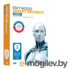 Антивирусы. ПО Eset NOD32 Smart Security Family 3 devices 1 year Renewal Box (NOD32-ESM-RN(BOX)-1-3)