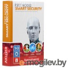 Антивирусы. ESET NOD32 Smart Security лицензия на 1 год на 3ПК NOD32-ESS-1220 BOX