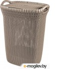 Корзина для белья Curver Knit Laundry Hamper 228410 (темно-коричневый)