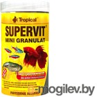 Корм для рыб TROPICAL Supervit Mini Granulat / 60424 (250мл)