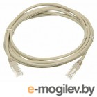 Patch cord Lanmaster TWT-45-45-3.0/6-GY 3м UTP Cat 6 Grey