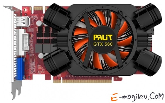 Palit GeForce GTX 560 OC 1Gb DDR5 NE5X560THD02-1142F