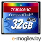 Compact Flash Card 32Gb 400x Transcend (TS32GCF400)