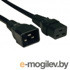 Кабель Tripplite (P036-002) AC Power Cord, C19/C20, 250V, 20A, 12 Awg, SJT- 2 ft.