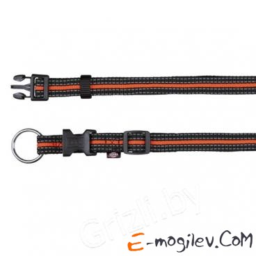 Trixie 20602 Fusion Collar (L-XL, Black-Orange)