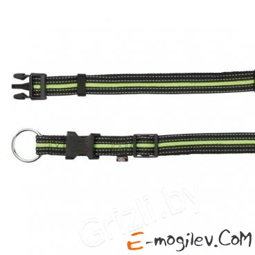 Trixie 20641 Fusion Collar (M-L, Black-Green)