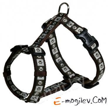 Trixie 15996 Modern Art H-Harness (S-M, Brown)