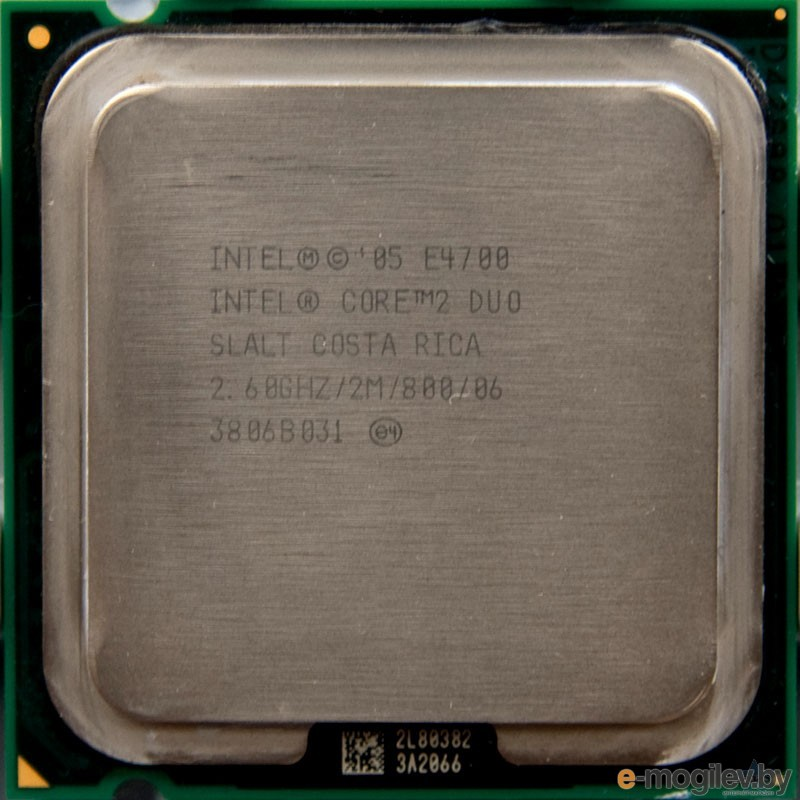 CPU Intel Core 2 Duo E4700 2.6  GHz/2core/  2Mb/65W/ 800MHz  LGA775