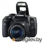 Canon EOS 750D EF-S 18-55 IS STM Kit