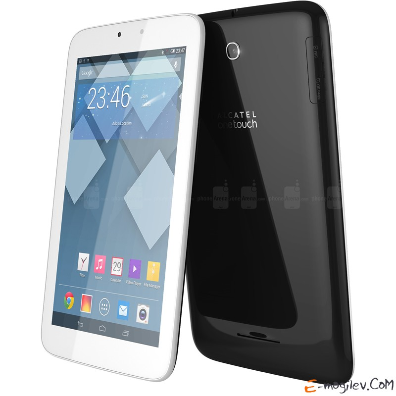 Alcatel Pop 7  Qualcomm 1200 MHz/7 1024x600/1Gb/4Gb/Wi-Fi + 3G/Bluetooth 4.0/Android 4.2/White