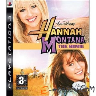 Sony PlayStation 3 Disney. Ханна Монтана в кино