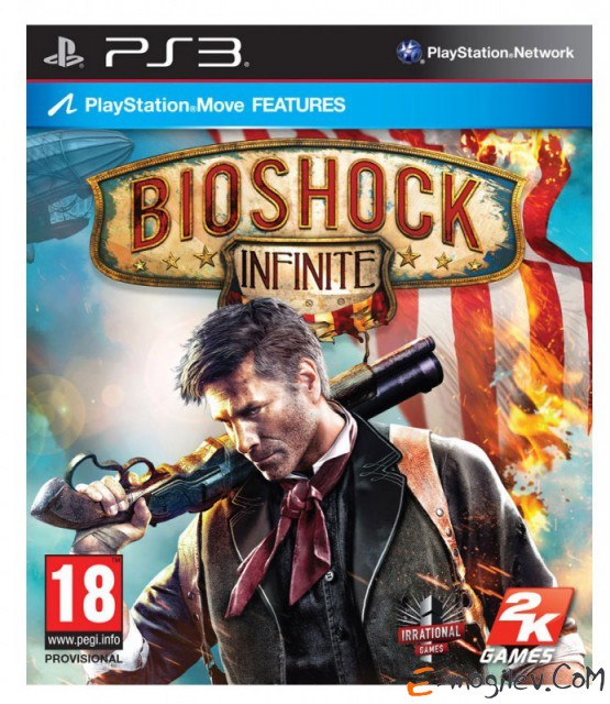 PS3 Sony BioShock Infinite русская документация