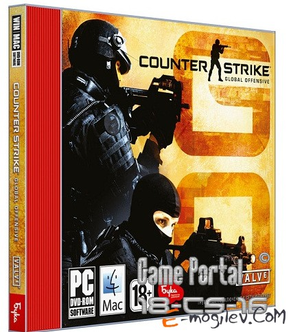 Counter-Strike Global Offensive jewel Бука DVD
