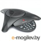 Конференционная система POLYCOM SoundStation2 (analog) conference phone with display. Expandable. Includes 220V-240V AC power/telco module, power cord with CEE7/7 plug, 6.4m console cable, 2.8m telco cable. Does NOT include expansion mics. (2200-16200-122