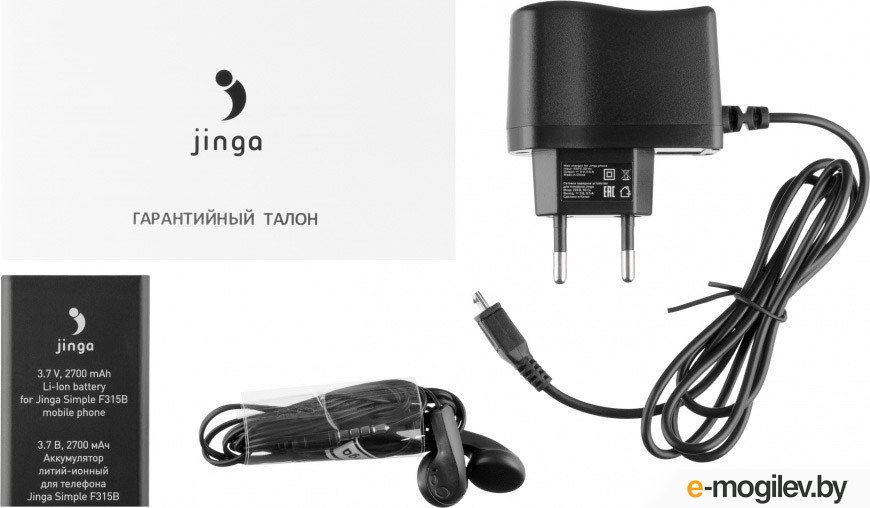 Jinga Simple F315B Чёрный