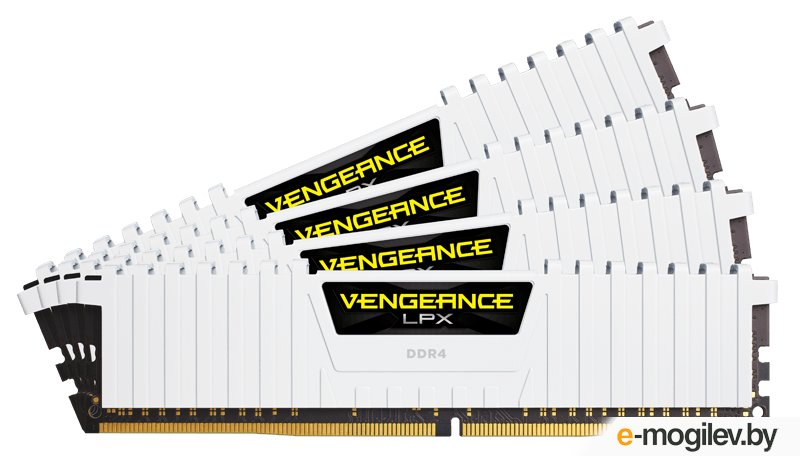 Память DDR4 2x16Gb 2666MHz Corsair CMK32GX4M2A2666C16W RTL PC4-21300 CL16 DIMM 288-pin 1.2В