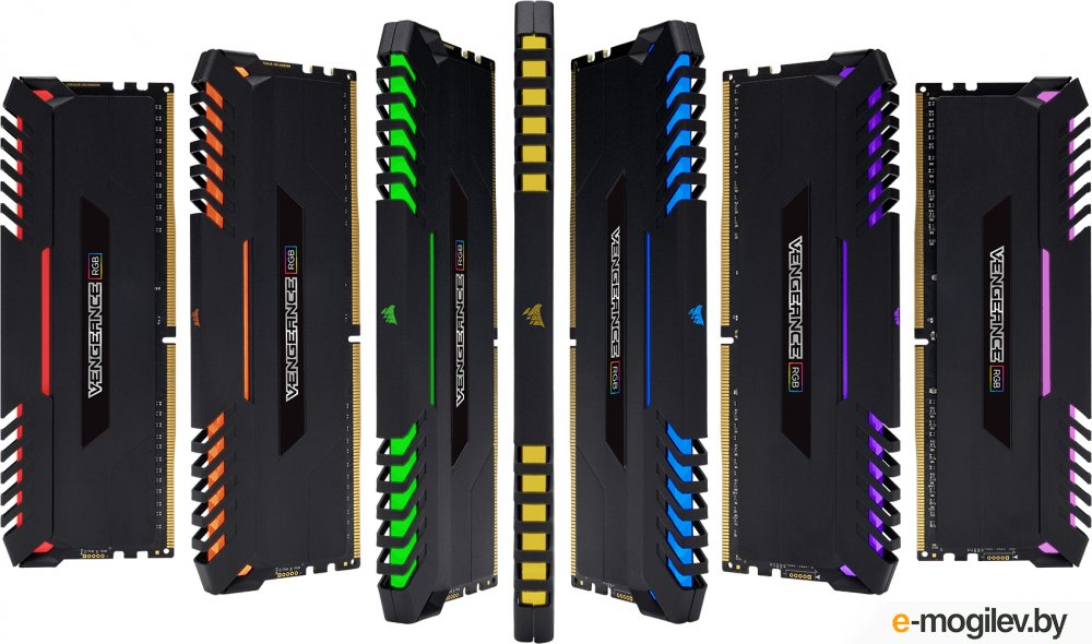 Corsair DDR4 2x8Gb 2666MHz  CMR32GX4M2A2666C16 RTL PC4-21300 CL16 DIMM 288-pin 1.35В