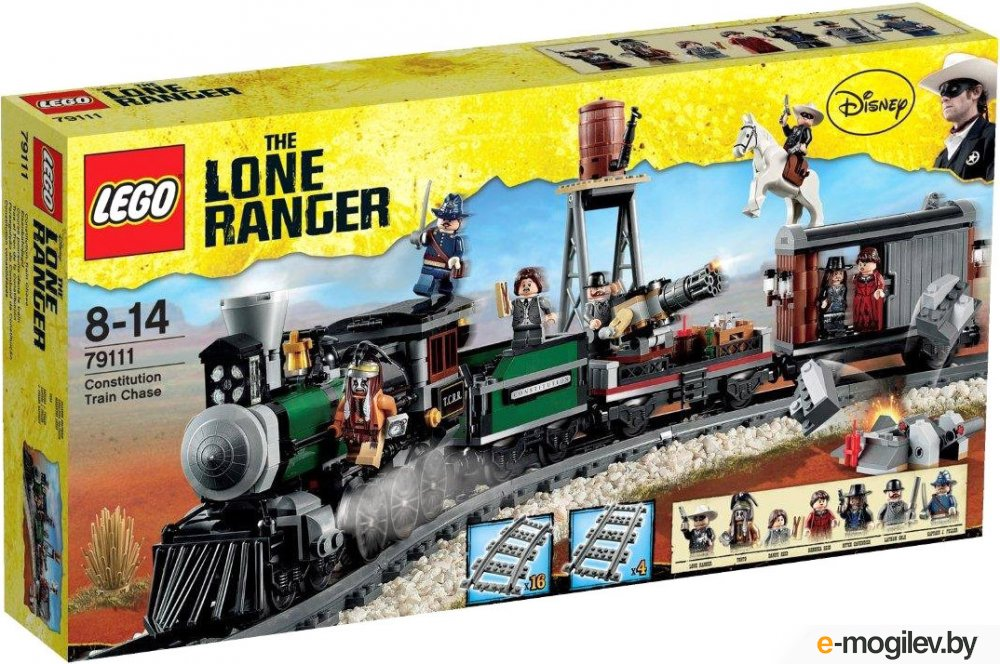 Конструкторы LEGO Конструктор Lego The Lone Ranger 79111
