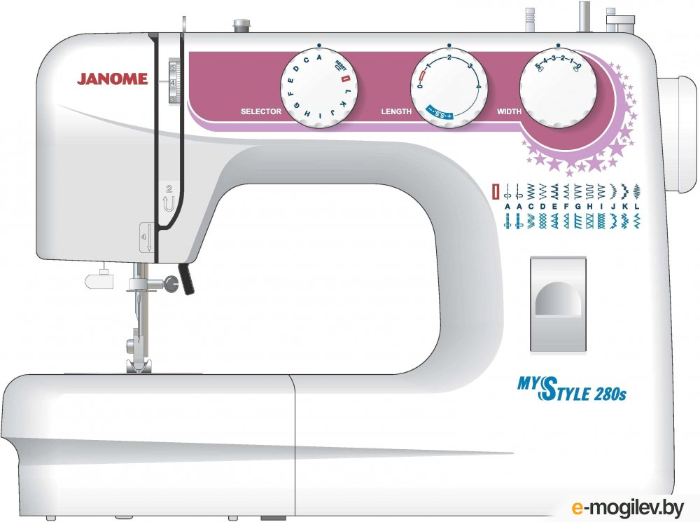 JANOME MYSTYLE 280s