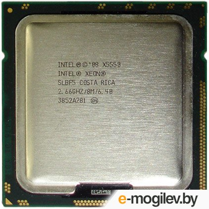 CPU Intel Xeon X5550 2.66  GHz/4core/1+8Mb/95W/6.40  GT/s LGA1366